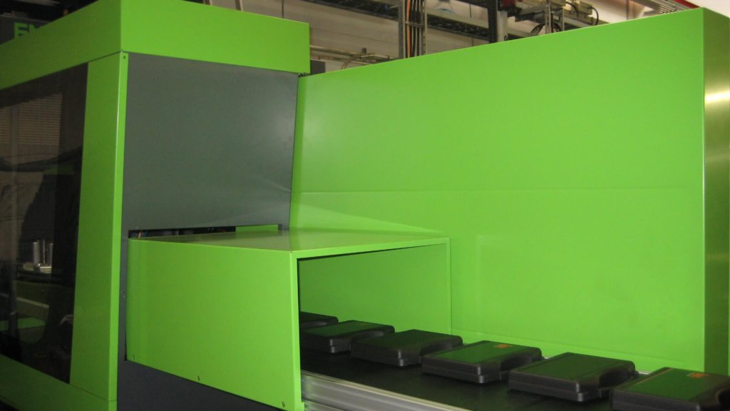 injection moulding machine of W.AG
