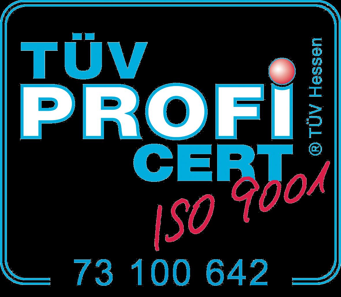 TÜV CERT ISO9001