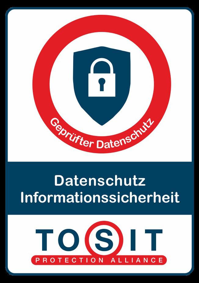 TOSIT Geprüfter Datenschutz