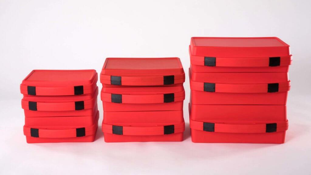 Neue Koffergrundformate