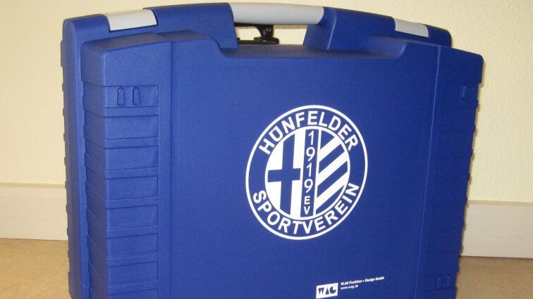 Schwerpalstkoffer HEAVY von W.AG für Hünfelder SV