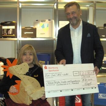 W.AG unterstützt das Kinderhospiz Kleine Helden