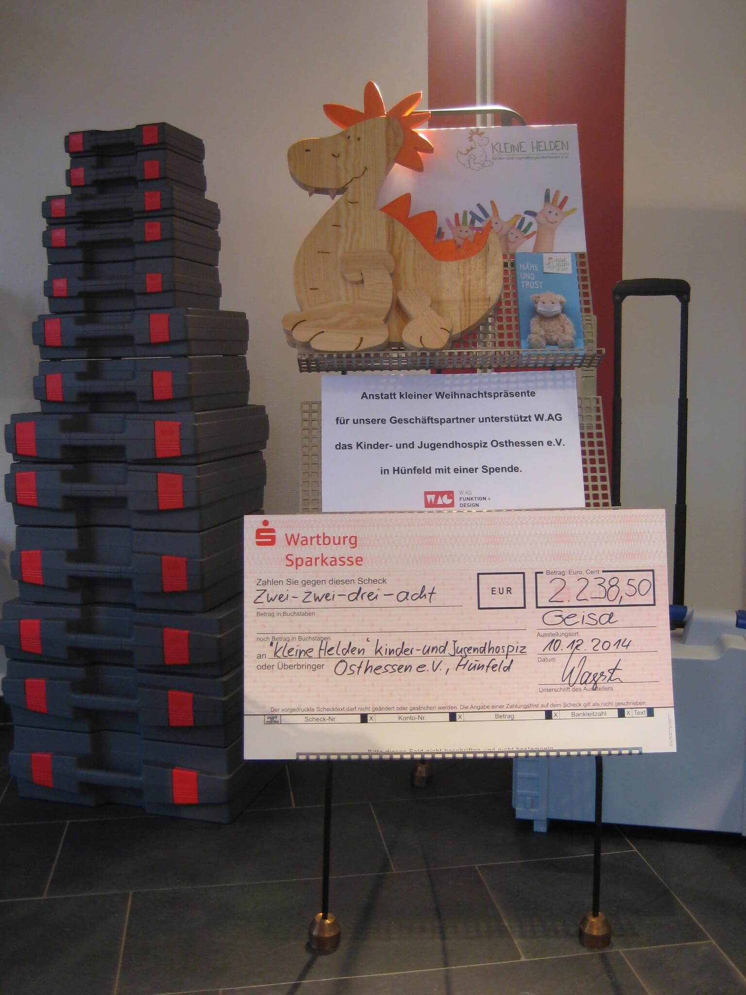Spenden statt Kunden-Weihnachtsgeschenke